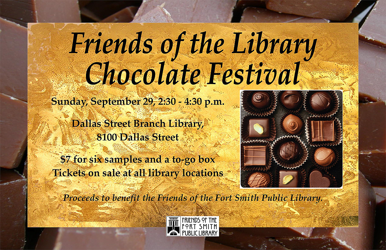 Chocolate Festival 2019 invitation