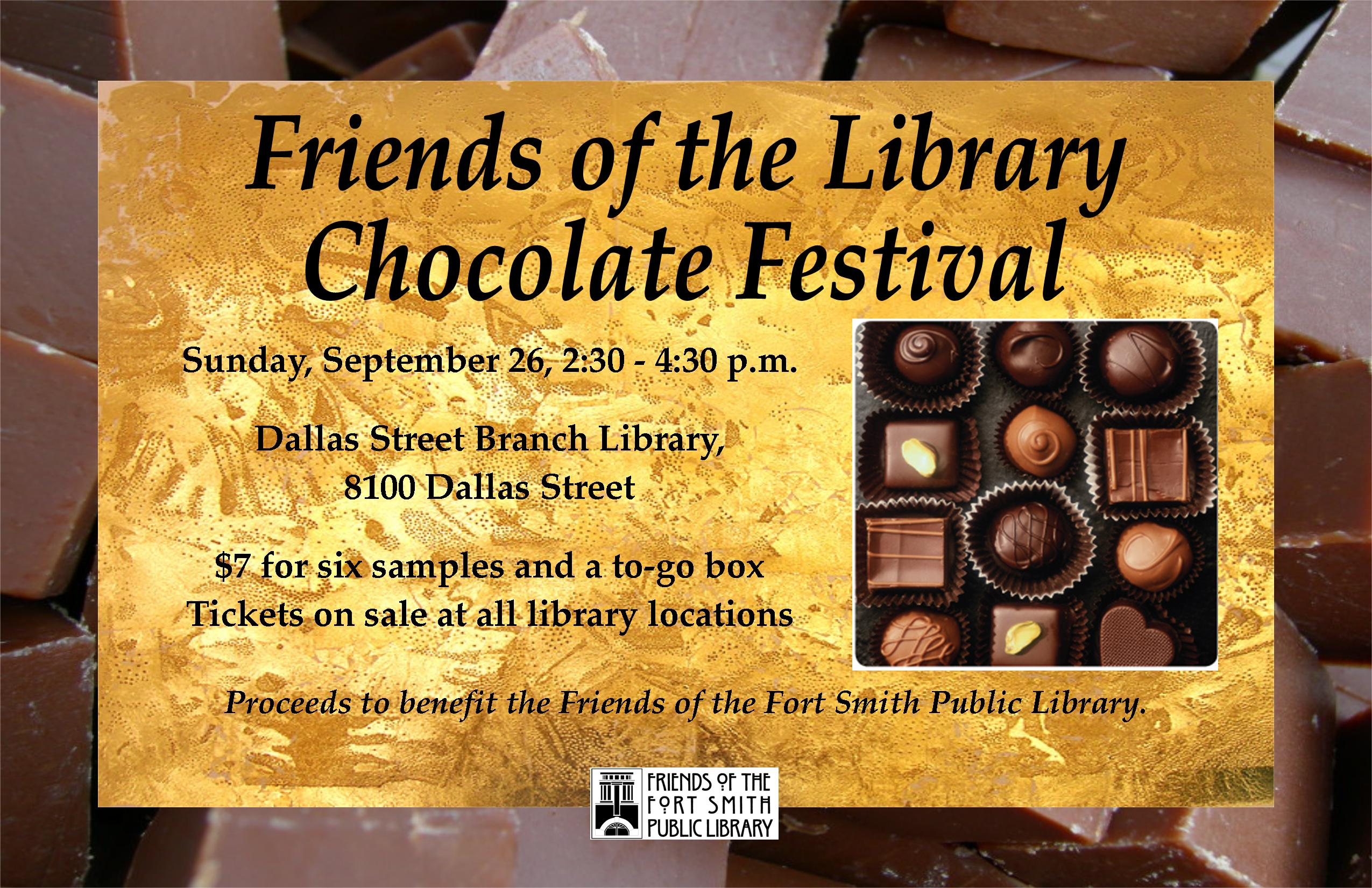 Chocolate Festival Poster 2021