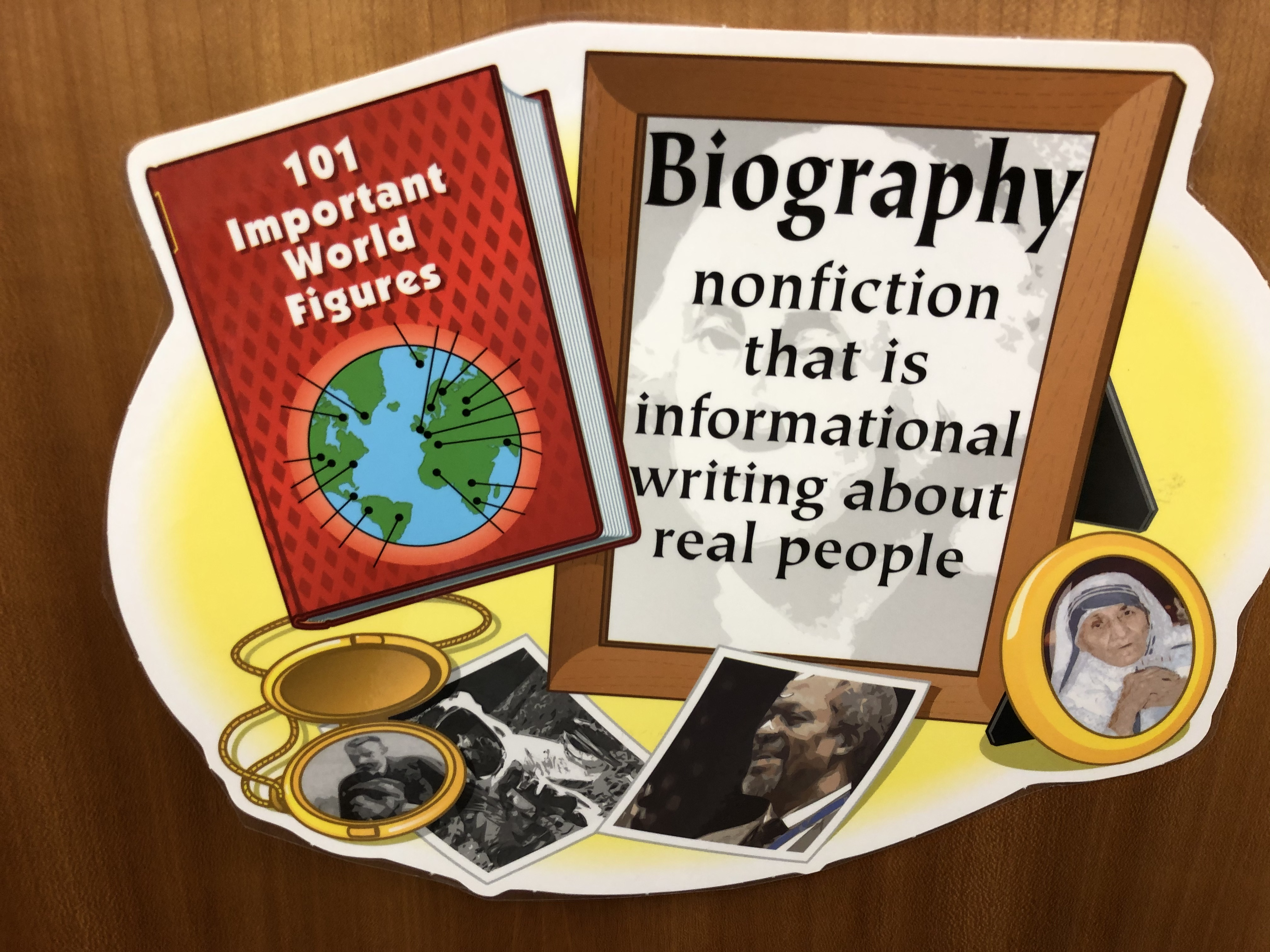 Definition of Biography sign