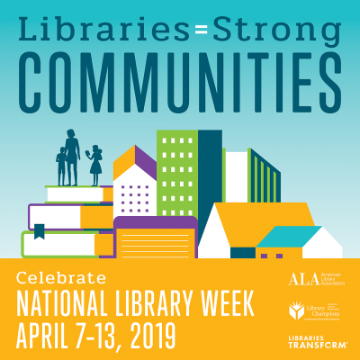 National Library Week 2019 info banner