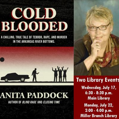 cold blooded book and Anita Paddock's photo