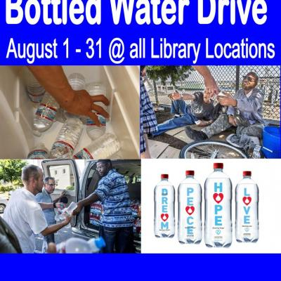 Bottled water drive