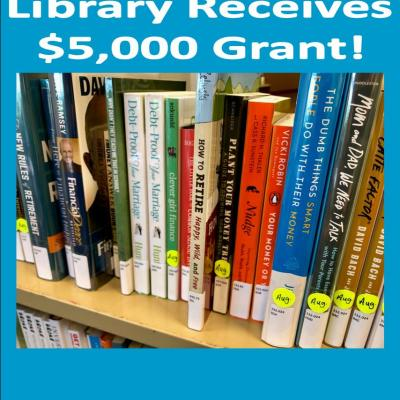 Library receives $5000 Grant