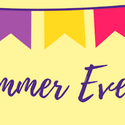 Summer Events banner