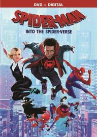 "DVD cover for ""Spider-Man: Into the Spider-Verse"""