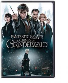 DVD cover for Fantastic Beasts: The Crimes of Grindelwald
