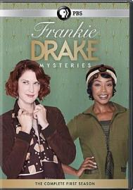DVD cover for Frankie Drake mysteries. The complete first season.