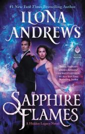 Cover image for Sapphire Flames