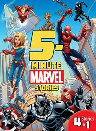 Cover image for 5-Minute Marvel Stories