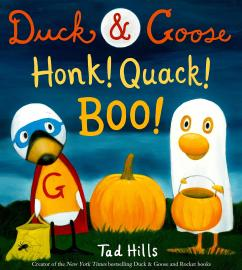 Cover image for Duck and Goose, Honk! Quack! Boo!