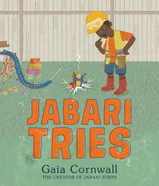 Cover image for Jabari Tries