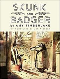 Cover image for Skunk and Badger (Skunk and Badger 1)