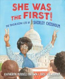 Cover image for She was the First!