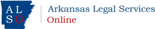 Arkansas Legal Services Online logo