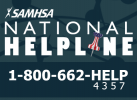 SAMHSA National Helpline logo