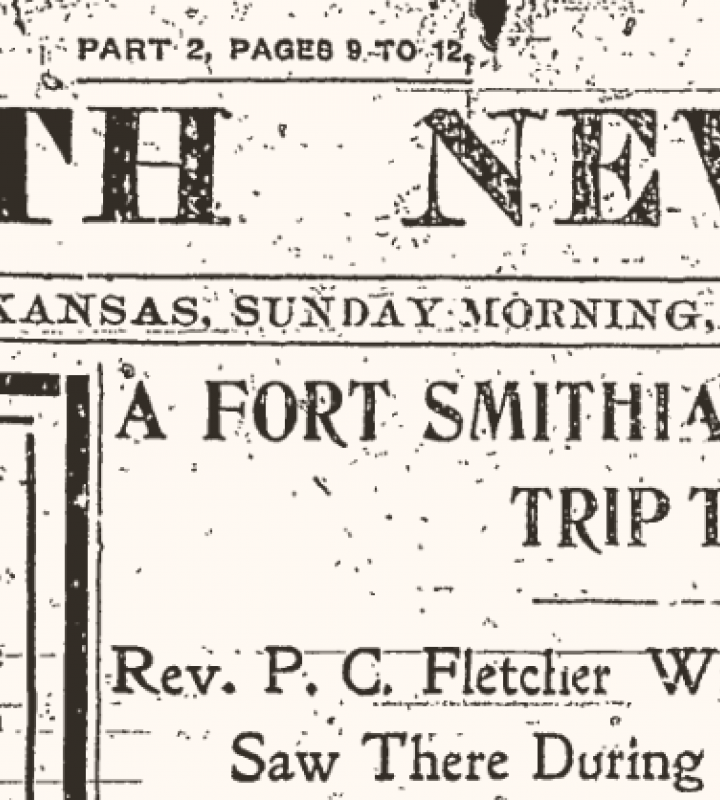 Fort Smith Record Newspaper Clipping