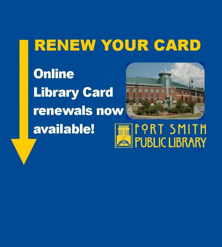 Online Library Card Renewa