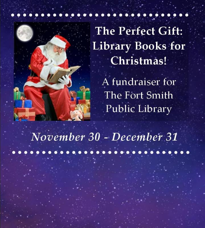 Perfect Gift: Library Books for Christmas Fundraiser