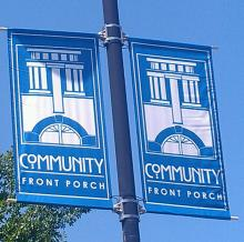 Community Front Porch Banner